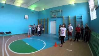 Урок физкультуры в Аргаяшской школе №2
