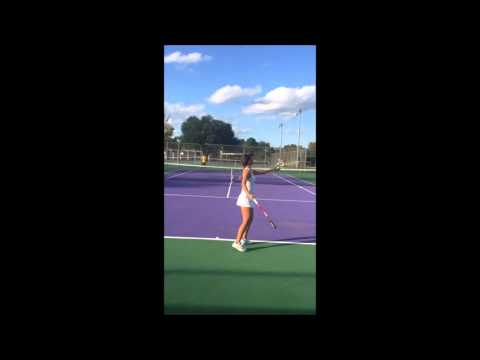 Aida Kelic;Tennis Recruit Video