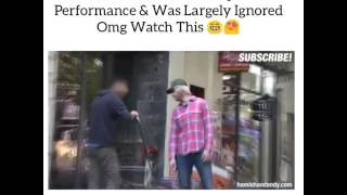 Ed shareen offered $2peep show performance and was largely ignored omg watch this