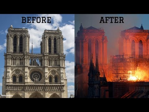 Raw Footage Of The Notre Dame Fire
