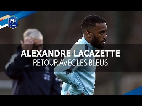 Didier Deschamps évoque Alexandre Lacazette