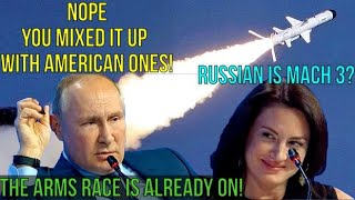 Putin Teases US Journo: No, Americans Are Developing Mach 3, Russian Ones Are Already Over Mach 20!