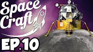 SpaceCraft: Minecraft Modded Survival Ep.10 - Moon Landing!
