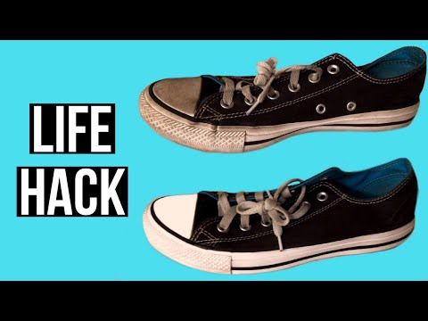 HOW TO GET YOUR SHOES LOOKING LIKE NEW AGAIN? | EASY LIFE HACK