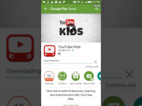 How to download YouTube kids // what is youtube kids?