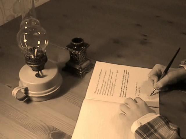 Изображение предпросмотра прочтения – АннаШапошникова представляет буктрейлер кпроизведению «Жалобная книга» А.П.Чехова