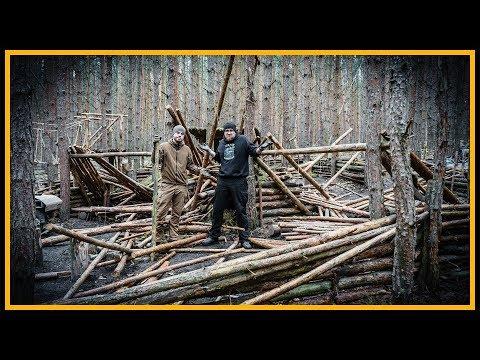 Bushcraft Camp [S04/E20] Phönix aus der Asche - Lagerbau Outdoor Super Shelter