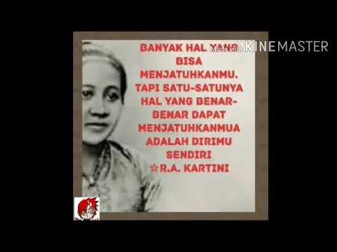 21 April Hari Raden Ajeng Kartini Berikut Kata Kata Mutiara Yang