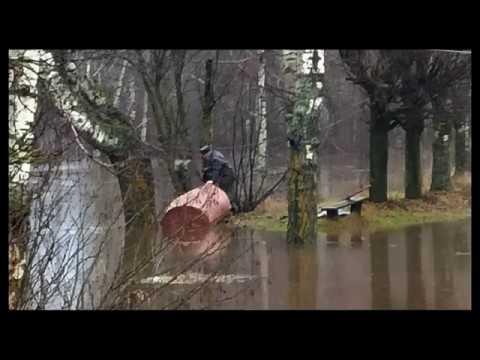 Наводнение в Солигаличе. Паводок в Солигаличе. Потоп в Костромской области.