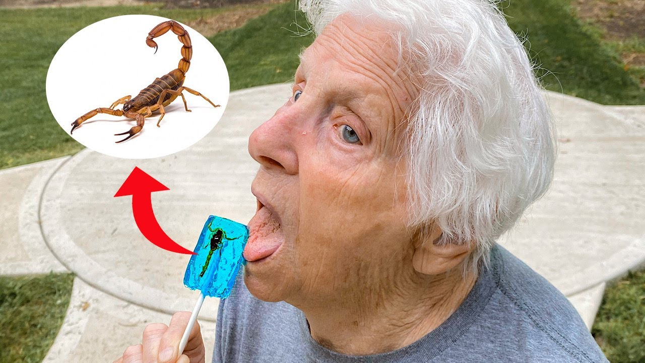 There's A Scorpion In Granny's Lollipop | Ross Smith