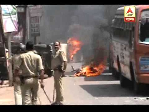 Tension at Raniganj of Burdwan over allegation of rape of a girl