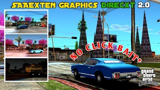 RELEASE!! | SAAExten Graphics Direcxt 2.0 For GTA SA Android || GTA SA ANDROID MOD
