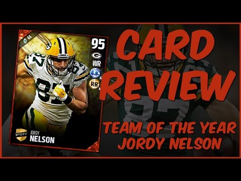 MUT 17 Card Review | TOTY Jordy Nelson Gameplay + Card Review