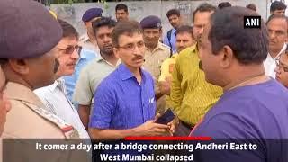 Another bridge develops cracks in Mumbai after Andheri bridge collapse