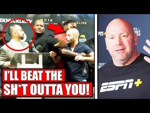 Artem Lobov tries to attack Paulie Malignaggi, Dana White in China at new UFC P.I, Cejudo injured