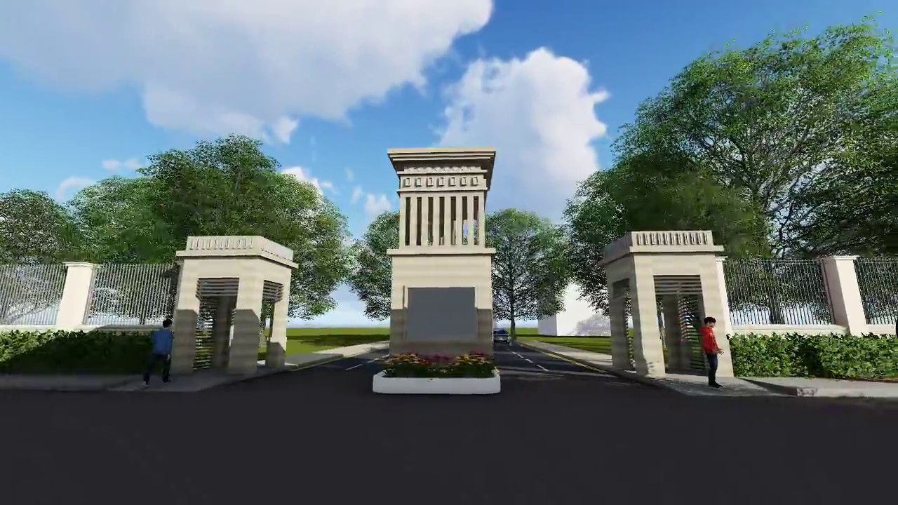 Entrance Arch Design Option 01