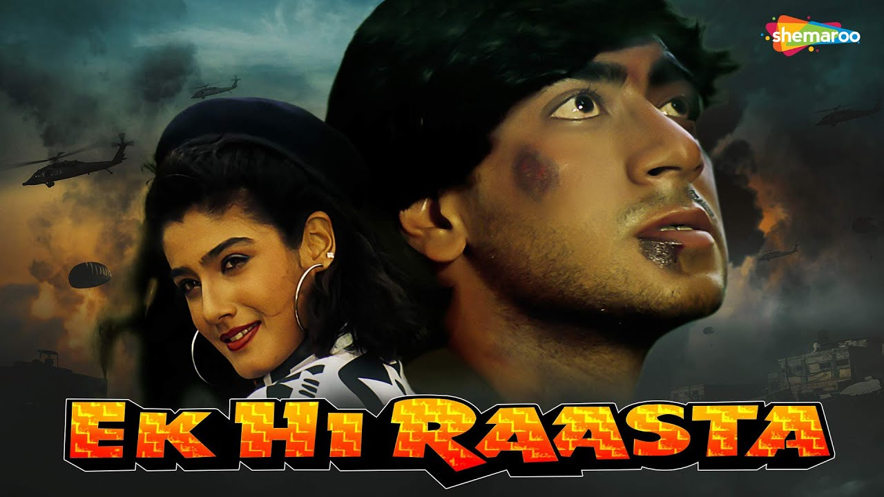 Download Ek Hi Raasta -1993 {HD} - Ajay Devgan - Raveena Tandon - Best Old 90's Hindi Movie