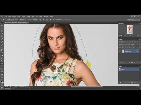 How to Create Clipping Path Photoshop cs6