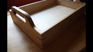 Making a wooden serving tray!