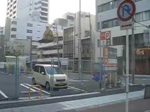 Bus for JR Osaka station around Itachibori,Nishi ward Osaka city CIMG9033