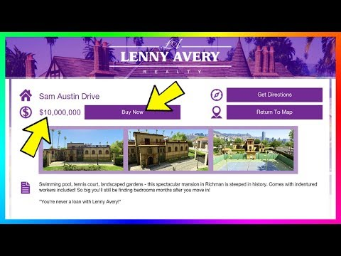 Buying & Owning Mansions In GTA Online - Locations, NEW Website & How Rockstar Could Make It Work!