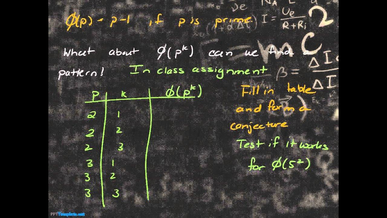 number theory 11 10 euler totient function formula for. Black Bedroom Furniture Sets. Home Design Ideas