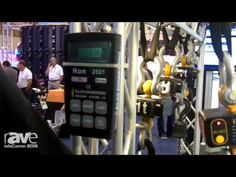 InfoComm 2015: Eilon Engineering Showcases Wireless Shackle Pin and Dynamic Load Cell