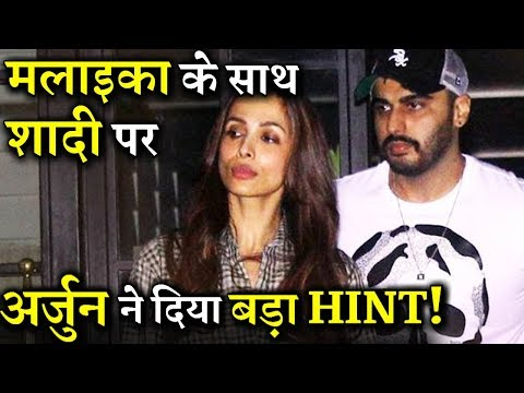 Arjun Kapoor Breaks His Silence On Marrying Malaika Arora