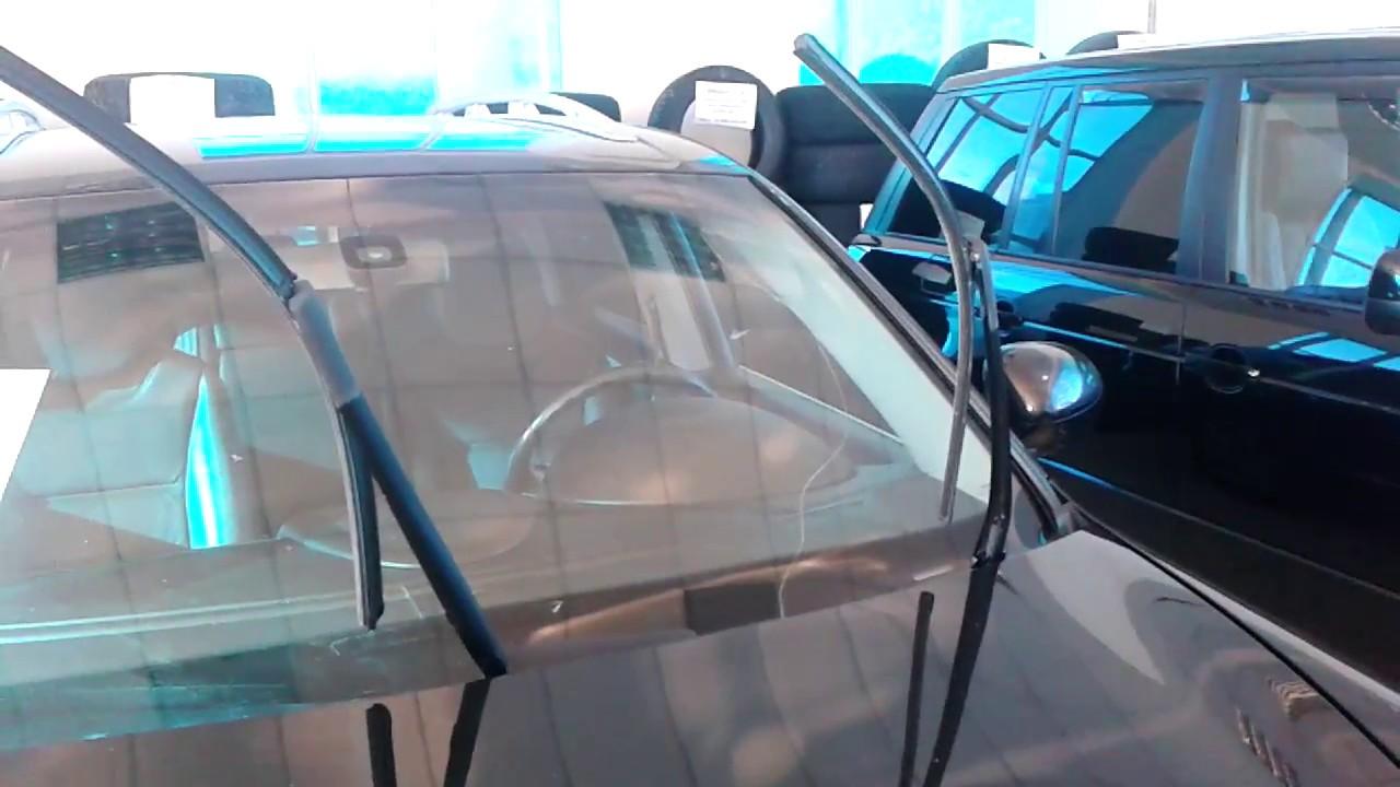 Видео: Как поднять дворники в Porsche Cayenne, Порше Кайен