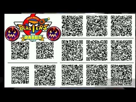 Qr Code Yokai Watch Blaster