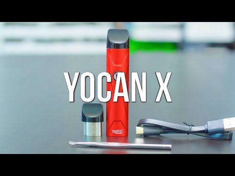 Yocan X Concentrate Pod Vape Pen – Product Demo | GWNVC's Vaporizer Reviews
