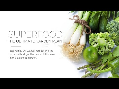 Superfood Garden Plan - Inspired by Dr. Terry Wahls