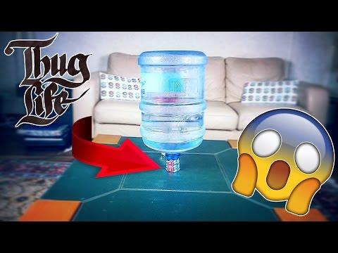 Amazin Water Bottle Trick Shots