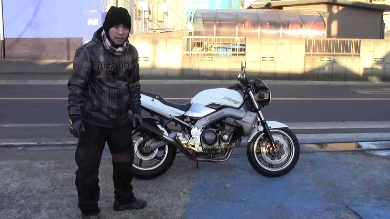 画像: KAWASAKI ザンザス 参考説明動画 XANTHUS www.youtube.com