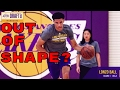 LAKERS: LONZO BALL OUT OF SHAPE AT LAKERS WORKOUT!!!