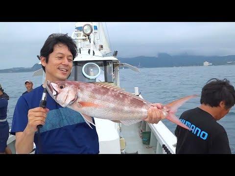 【釣り百景】#299 沖縄で船釣り満喫 高級五目&大型タチウオ