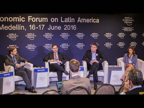 Colombia 2016 - Press Conference: Developing Colombia's Capital Market