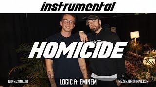 Logic ft. Eminem - Homicide (INSTRUMENTAL) *reprod*