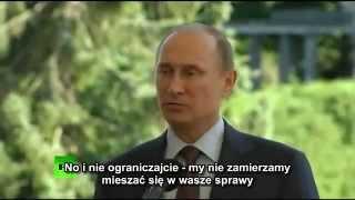 Putin o homoseksualistach 25.06.13 napisy pl