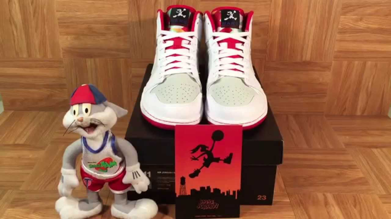 ShoeZeum Bugs Bunny Nike Hare Jordan 1 And Space Jam Air Jordan 11 - YouTube a7e80cbb6