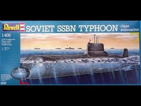 Revell 1 400 Ssbn Typhoon Class Russian Submarine Inbox