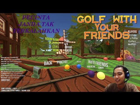 PECINTA JANDA SUSAH DI KALAHKAN!! - Golf With Your Friends [Indonesia]