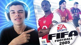 O PRIMEIRO FIFA QUE EU JOGUEI! 😱 - FIFA 05 | Toalha Nostálgica