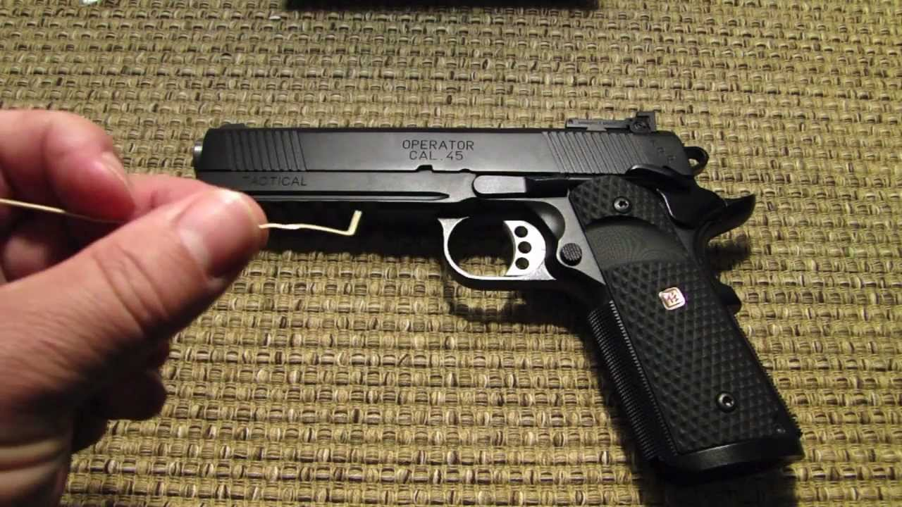 Springfield Armory 1911 Trp Range Report Youtube