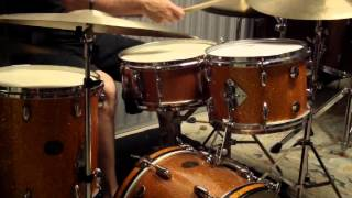 Download Gretsch 70s SSB 12 14 16 Bass Drum + 14 snare MP3 song and Music Video