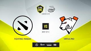 Fighting PandaS vs Virtus.pro, ESL One Hamburg 2019, bo2, game 1 [Maelstorm & Jam]