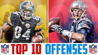 10 Best NFL Offenses - Top 10 NFL Offenses 2017 | NFL Rankings