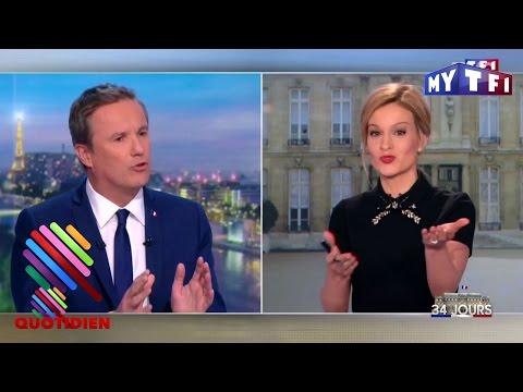 Nicolas Dupont-Aignan quitte le plateau de TF1 : on refait le fight ! - Quotidien du 20 Mars