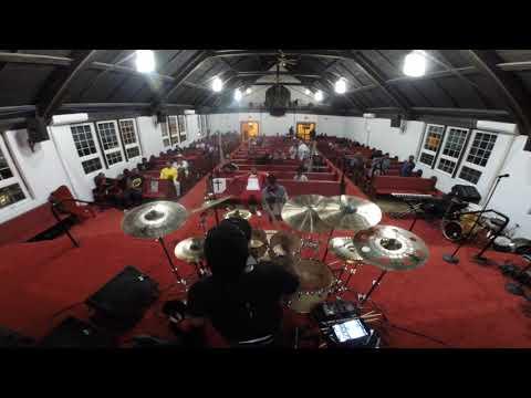 Josiah Maddox at Jaylan Crout drummers showcase