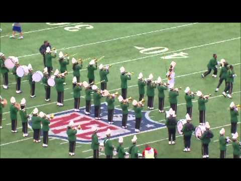 Milford Mill Band at Giants Game 2012